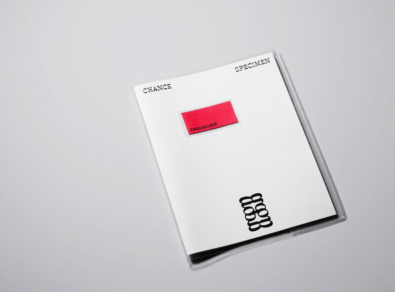 Embuscade ET Chance – Spécimen typographique
